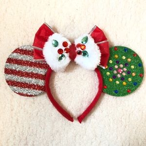 Other - Minnie Mouse inspired Christmas ears